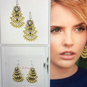 Stella and dot Norah chandelier earrings